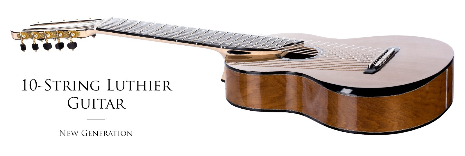 10-string luthier guitar slider