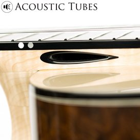 'Acoustic Tubes' inside guitars neck