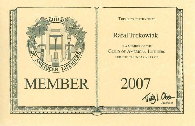 GAL member 2007