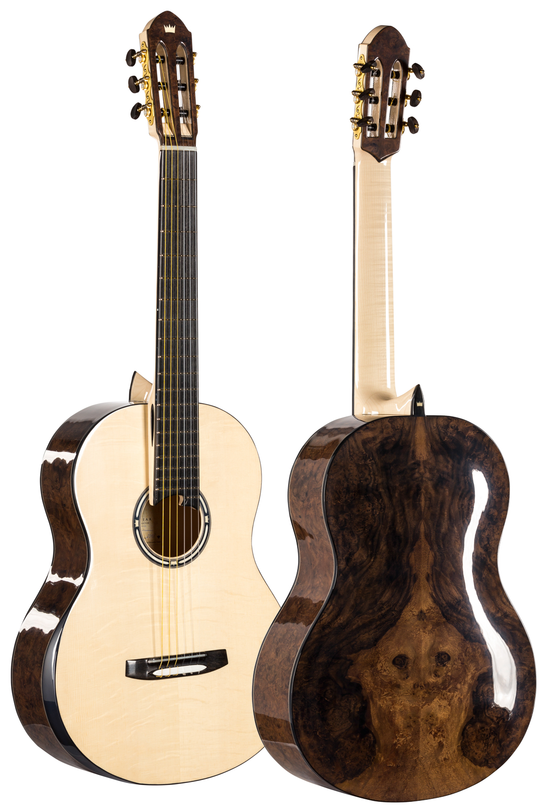 Spruce Walnut Guitar