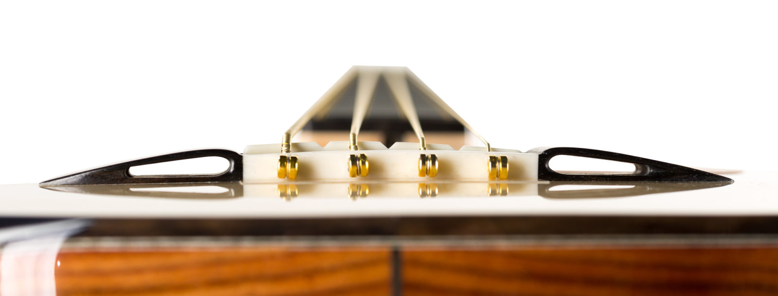 Acoustic Bass Pinless Bridge