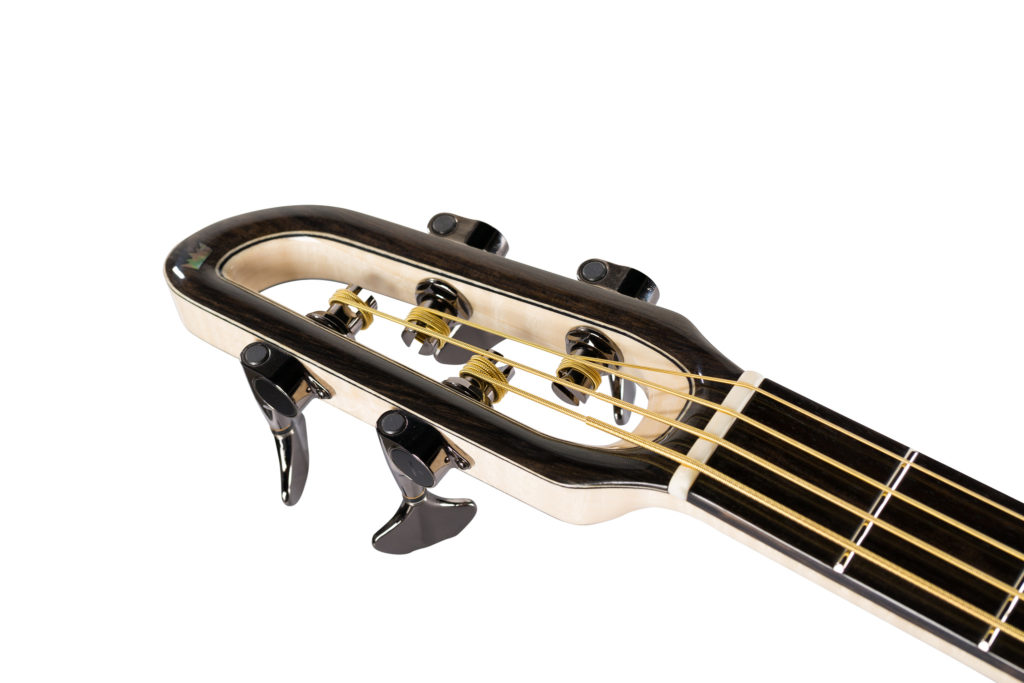 Acoustic Bass Headstock