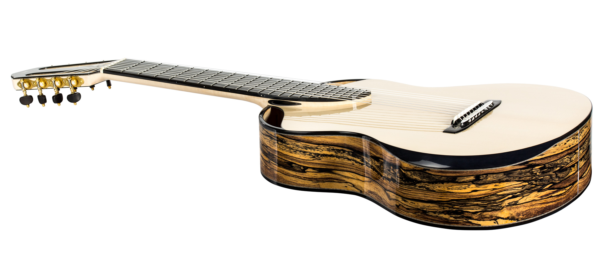 8-string classical guitar sides