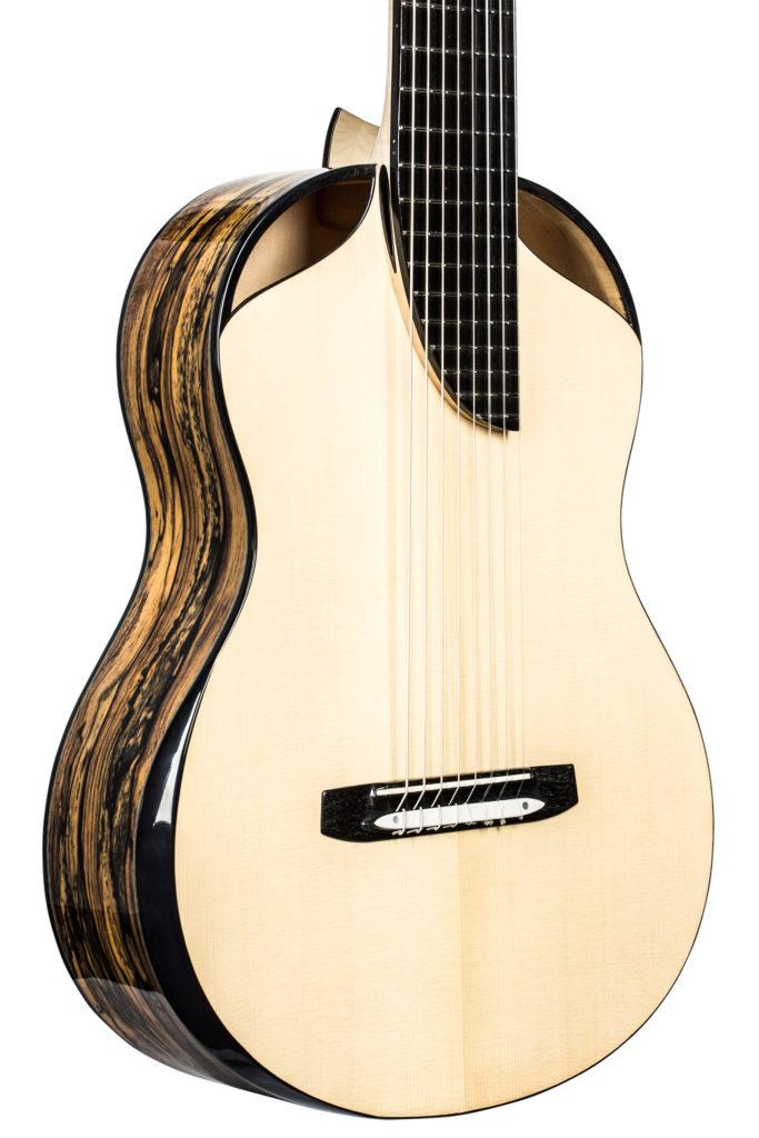 8-string classical guitar body