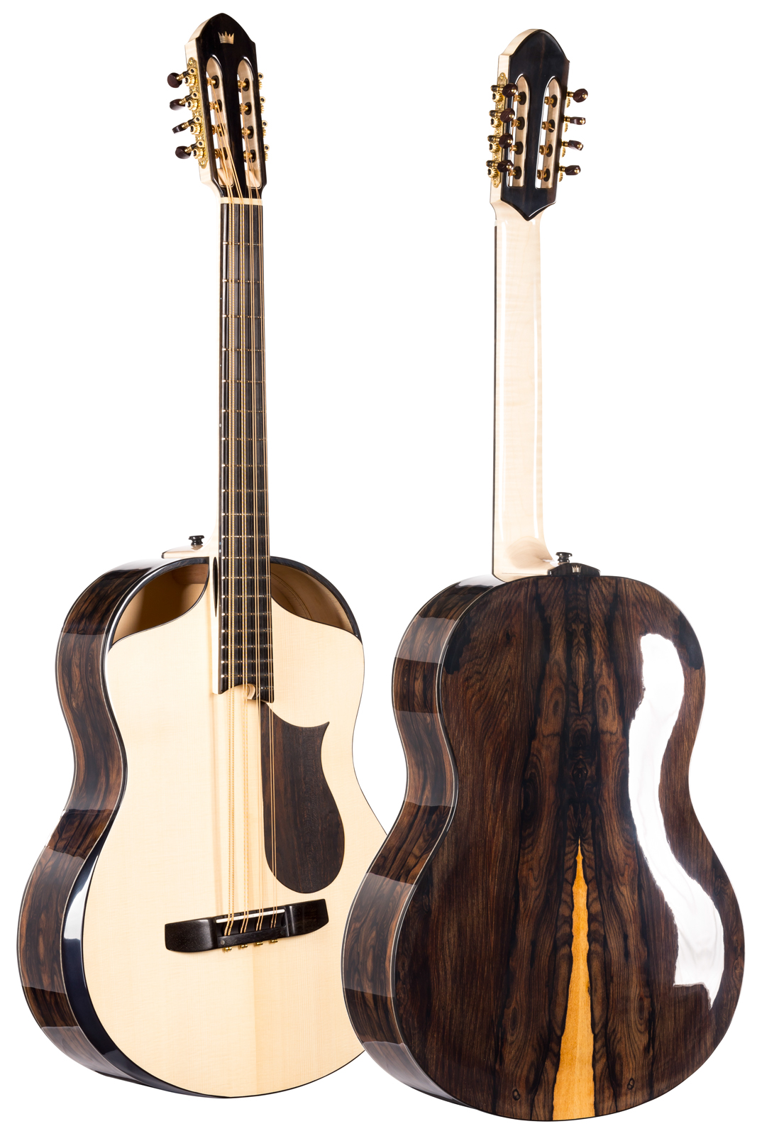 mandocello front and back