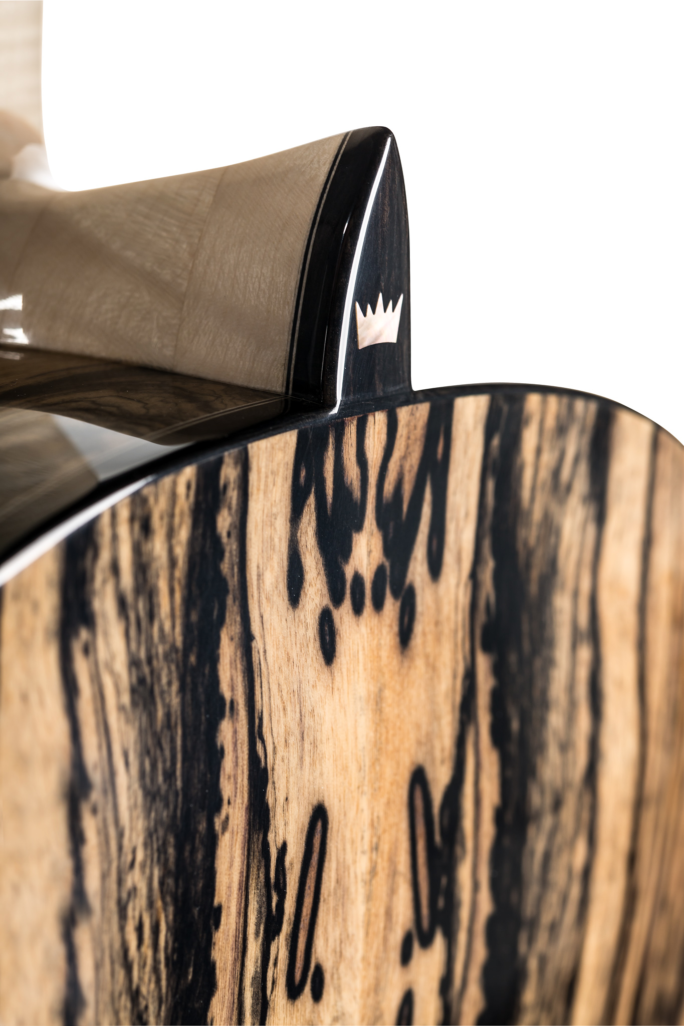 Pale Moon Ebony guitar heel