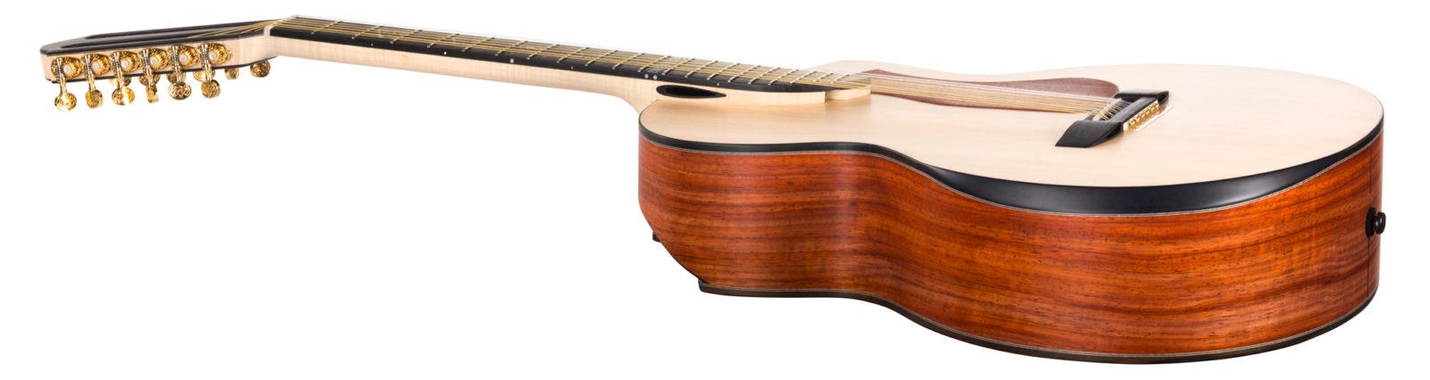Acoustic Guitar with 2 diagonal soundports