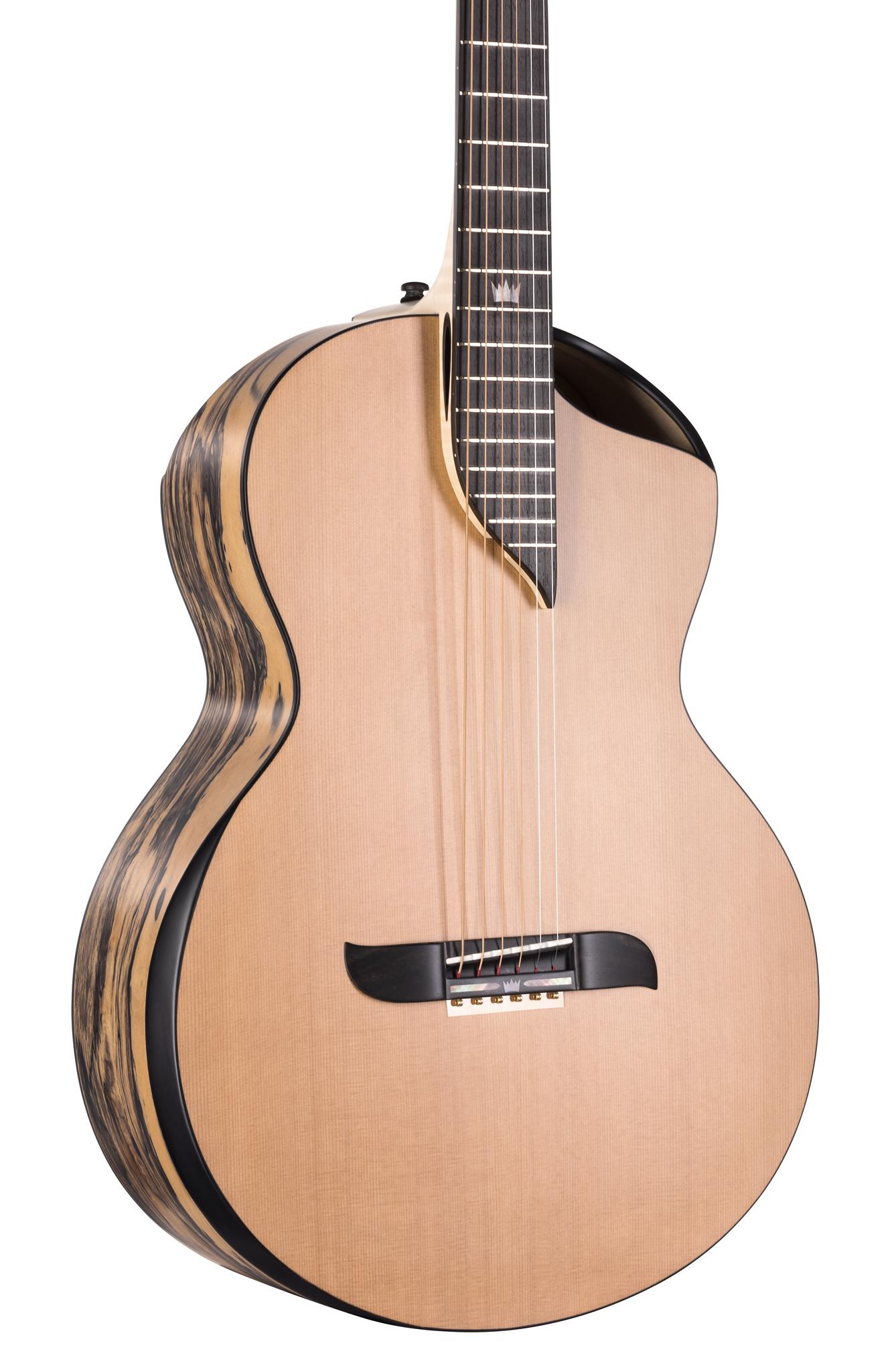 Double-top OM guitar