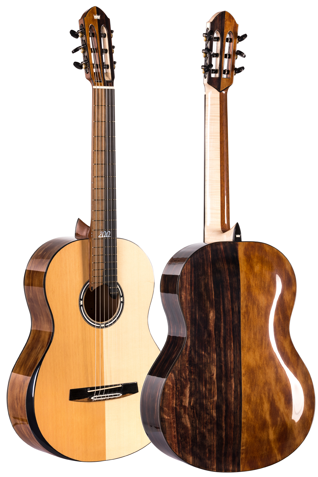 Turkowiak Anniversary Guitar no. 200 - Front and Back Photo