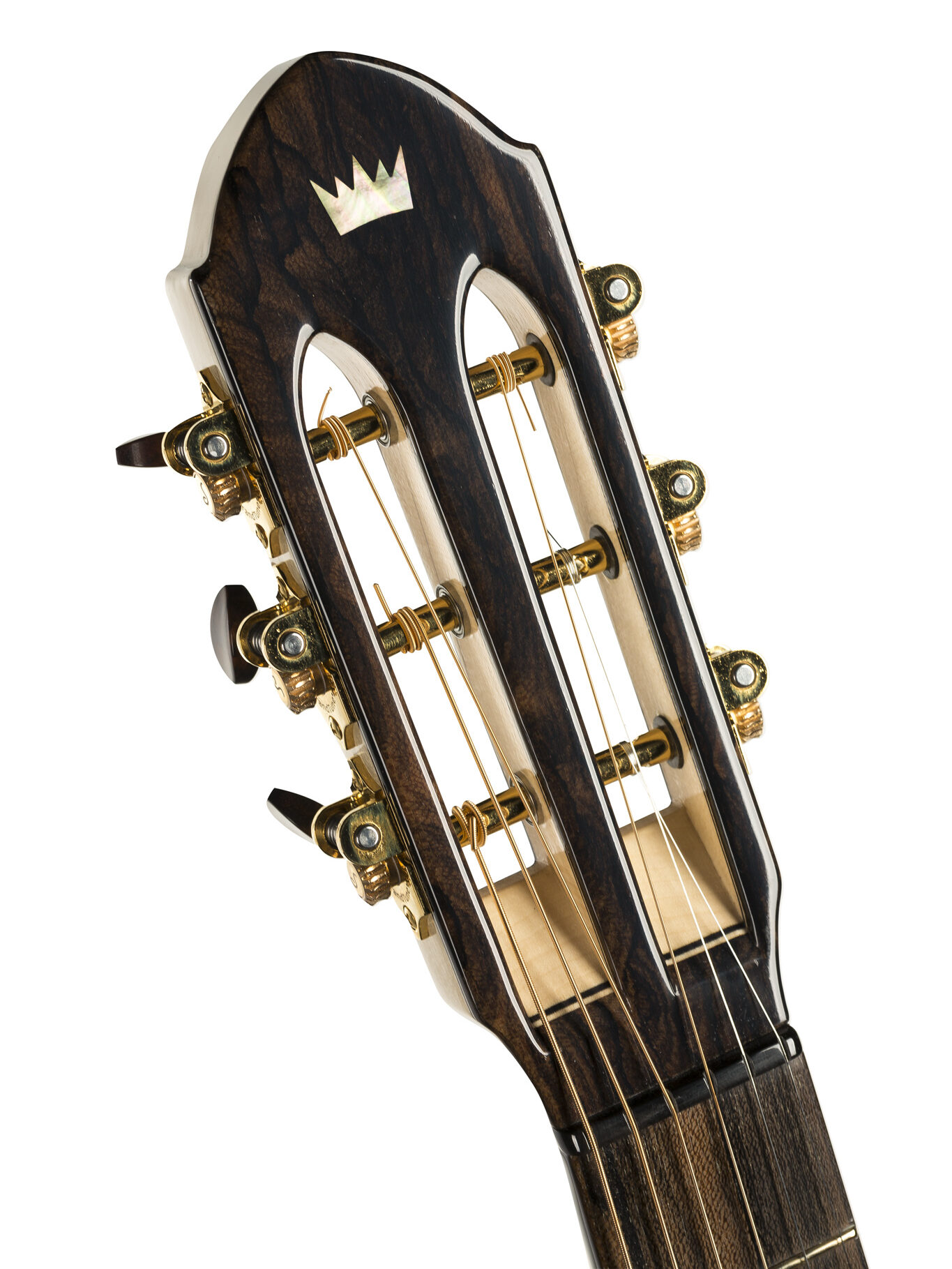 Acoustic Guitar slotted headstock